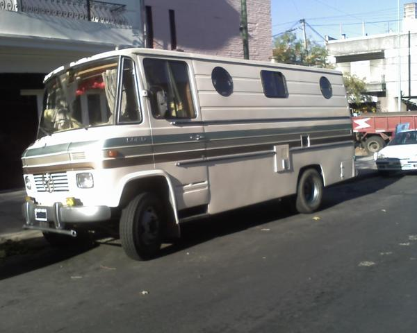 VENDO MOTORHOME 608 IMPECABLE