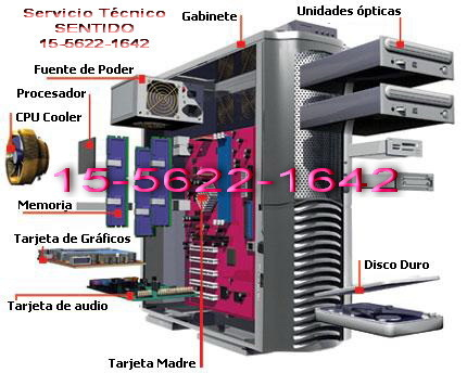 Service de PC a Domicilio Capital Federal-5622-1642) - Internet / Multimedia - San Telmo
