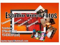 ESTUDIO VIDEO FOTOS - Servicio de Fiestas - Corrientes