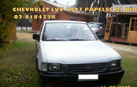 CHEVROLET LUV 1997 CABINA SIMPLE BUEN ESTADO $2.550.000  - Autos - El Monte