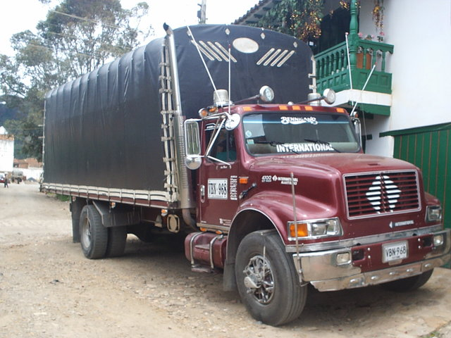 camion international - Carros - Boyacá