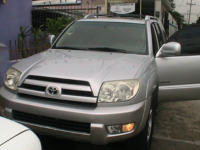 jeepeta toyota 4 runner limited 4x4 2003 color gris ..  - Autos - Todo República Dominicana