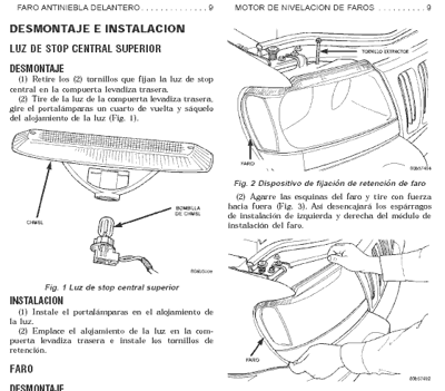 manual de mantenimiento mecanico Jeep Grand Cherokee Limited quadra