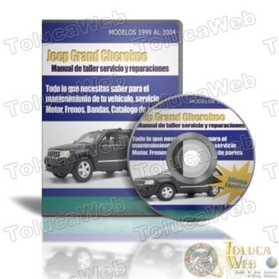 manual de mantenimiento mecanico Jeep Grand Cherokee Limited quadra - Otros Servicios - Distrito Federal