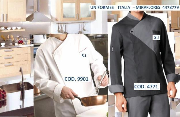 Fotos de uniformes para chef en lima car interior design - Uniformes de cocina ...