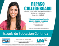 REPASO COLLEGE BOARD - Universidades - Barceloneta