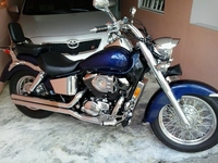 se vende honda shadow 750 2002 - Motos - San Lorenzo