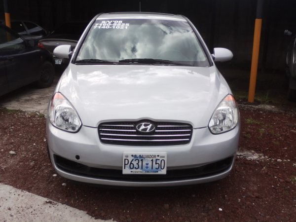 VENDO HYUNDAI ACCENT 2008 HATCHBACK - Autos - Todo El Salvador