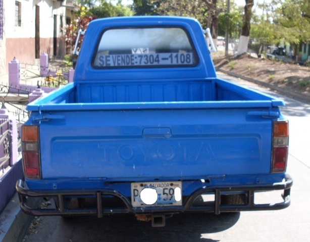 PICK UP TOYOTA  AÑO /82  22R - Autos - Sonsonate