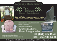 Granite Markers and Monuments - Internet / Multimedia - Los Angeles