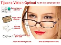 Contact Lenses Eye Exam $20 USD. Tijuana Eye Doctor (619)618-2503 - Busco Empleo - San Diego
