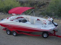 2007 Tahoe 215 Fish and Ski Deck Boat V8 w/ Trailer - Barcos / Náutica - Tucson