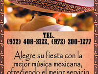 MARIACHI DALLAS y Fort-Worth 972-697-8648 - Eventos - McKinney