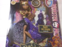 OFERTA ESPECIAL - VENDO   MUÑECAS MONSTER HIGH 13 WISHES HAUNT THE CASBAH CLAWDEEN WOLF DOLL - Regalos / Juguetes - Hawthorne